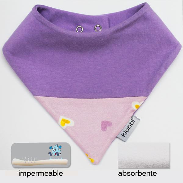 Quitababas bebé Algodón e impermeable, klobbi by RIDETO, hecho en España